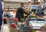Palygino maisto kainas miestuose: pigiausia – Klaipėda