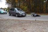 Klaipėdoje sunkiai sužalotas motociklininkas atsidūrė reanimacijoje
