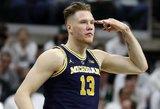 Lietuvą vaikystėje palikusiam talentui – įkvepiantys žodžiai dėl vietos NBA