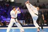 Europos čempionas Valdemaras Gudauskas: smūgis koja į galvą – kovotojų arkliukas