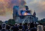 Atsakė, kaip kilo Paryžiaus katedros gaisras