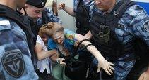 Maskvoje taikaus protesto metu sulaikyti 23 žmonės (nuotr. SCANPIX)