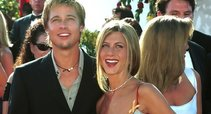 Brad Pitt ir Jennifer Aniston (nuotr. Vida Press)