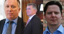 Algis Krupavičius, Virgis Valentinavičius, Arijus Katauskas (tv3.lt koliažas)