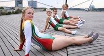 Specialiosios olimpiados gimnastikos klubo gimnastai. (Specialiosios gimnastikos klubo archyvo nuotr.)