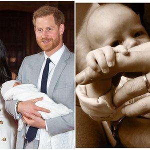 Markle ir Harry parodė, kaip jų vaikelis atrodo iš arti: pasirinko ypatingą progą