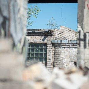 Vilniuje griaunamas pastatų kompleksas