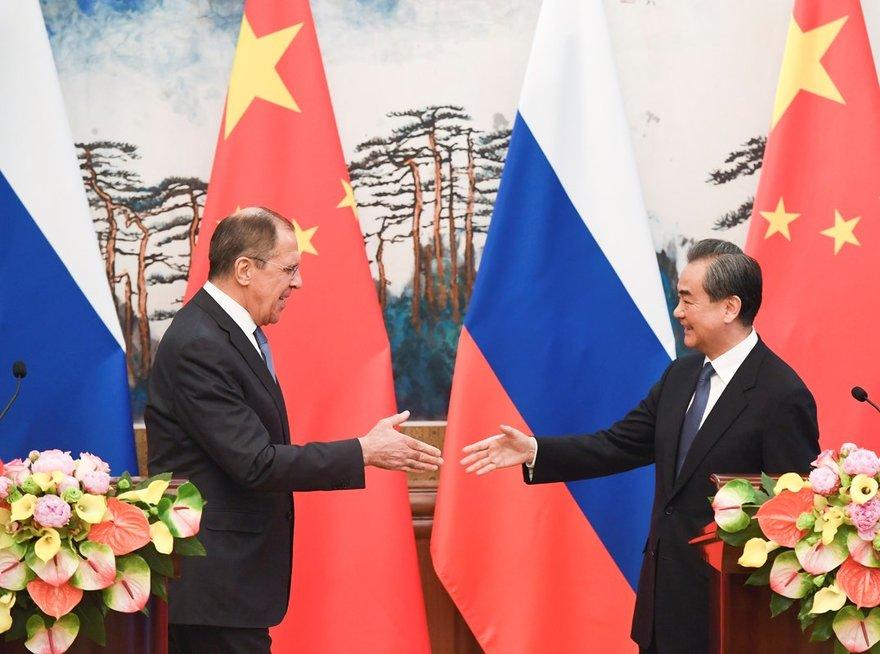 Rusija ir Kinija (nuotr. SCANPIX)