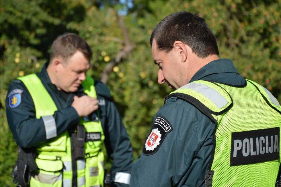 Užklupus negandai, policijos pareigūnų dėmesys ir supratingumas žmogui labai padeda