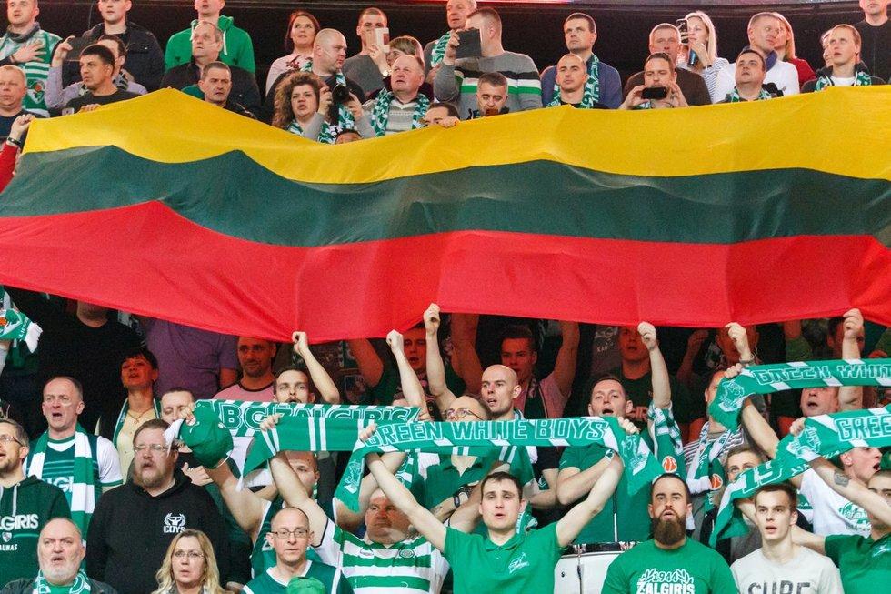 """Eurolyga: """"Žalgiris"""" – CSKA (nuotr. Tv3.lt/Ruslano Kondratjevo)"""
