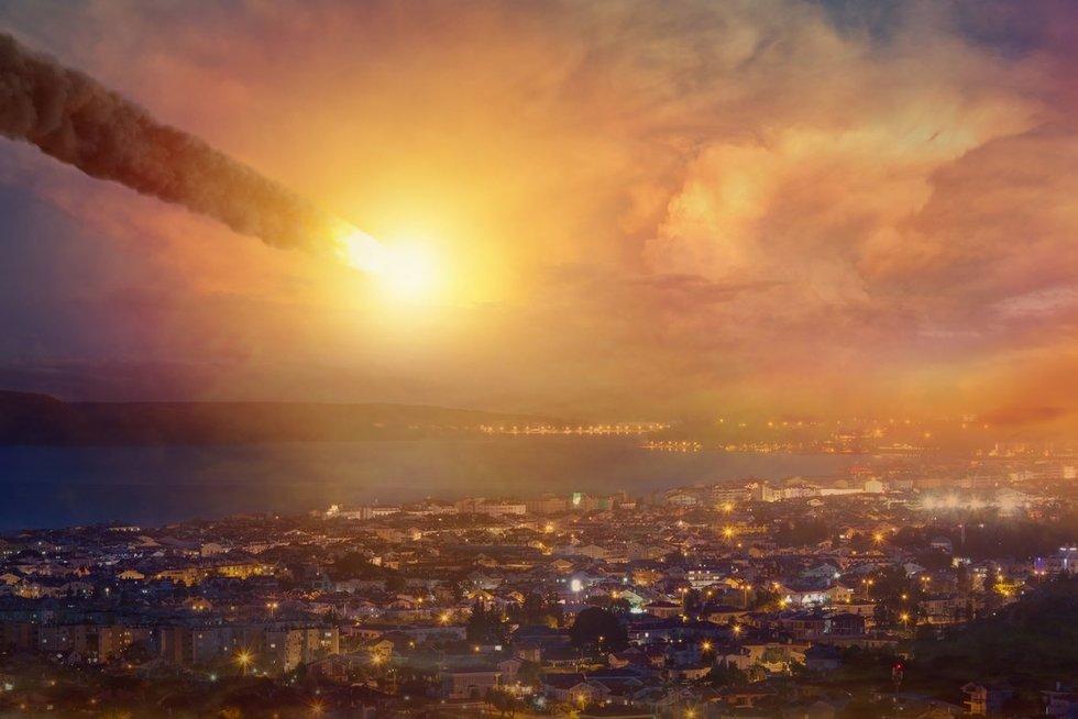 """""""Sunaikino"""" Niujorką: atskridęs asteroidas galėtų smogti bet kur (nuotr. 123rf.com)"""