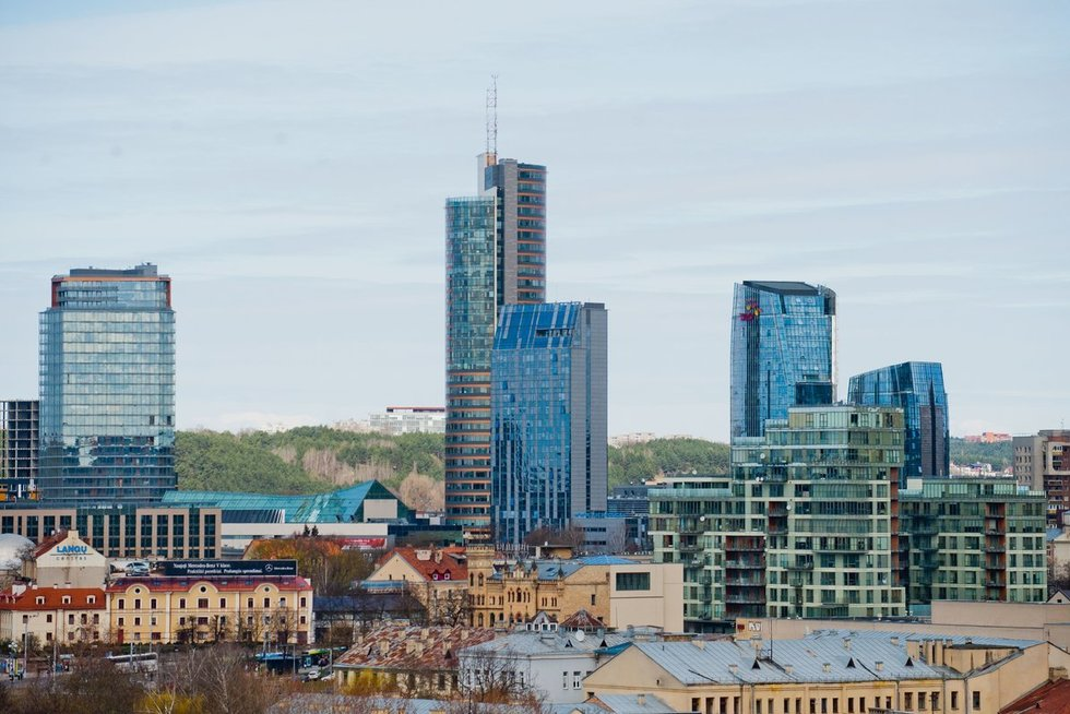 Vilniaus centras  (nuotr. Fotodiena.lt)