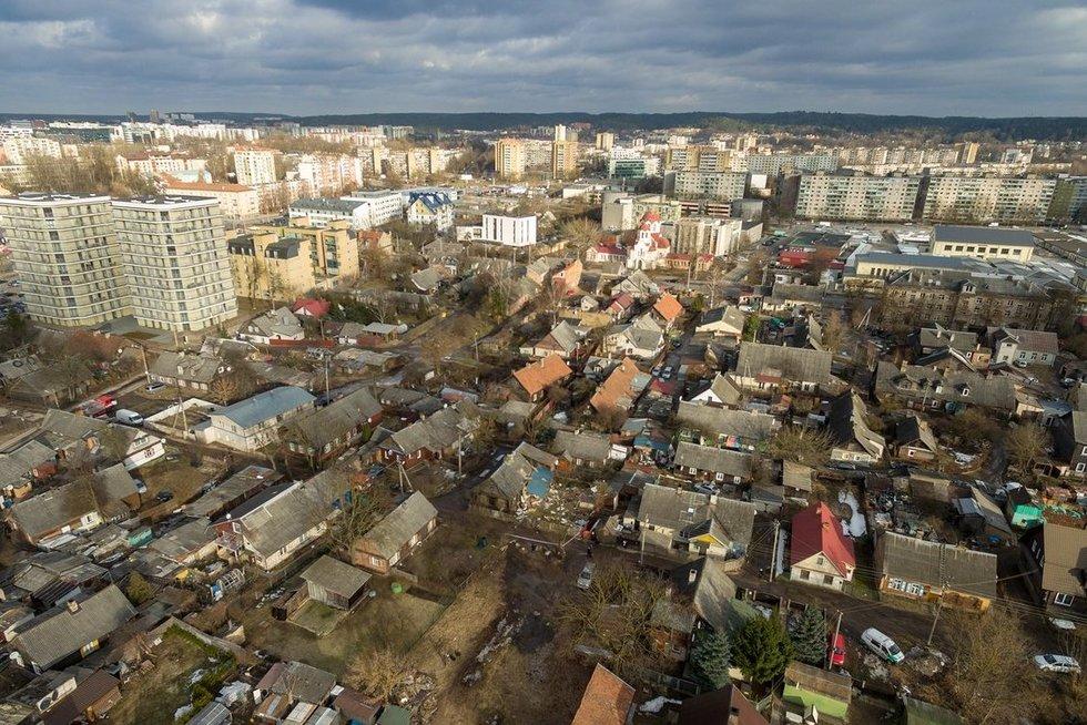 Sprogimas Šnipiškėse sugriovė dalį namo (nuotr. Broniaus Jablonsko)
