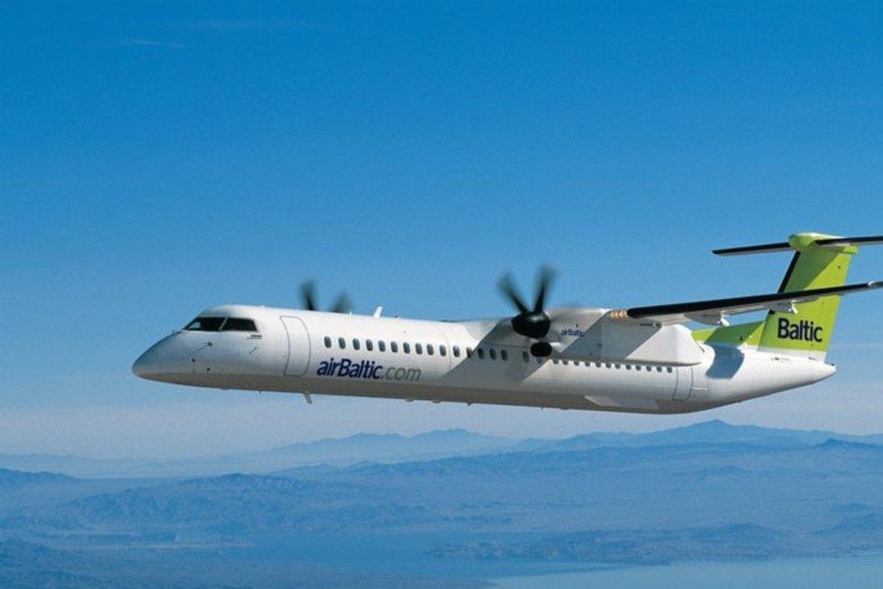 Nauja oro linijų kryptis į Popradą (airbaltic nuotr.)