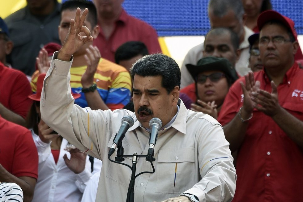 Venesuelos prezidentas Nicolas Maduro (nuotr. SCANPIX)