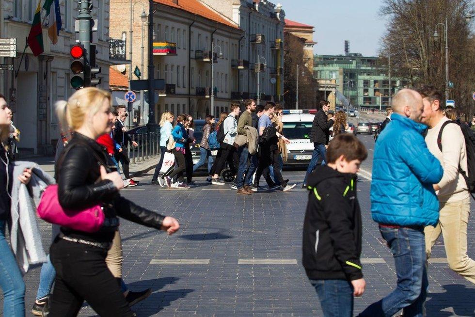 Žmonės gatvėje, Vygintas Skaraitis/Fotobankas