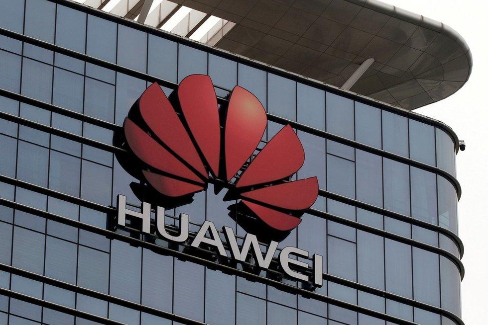 """Kinijos telekomunikacijų milžinė """"Huawei"""" (nuotr. SCANPIX)"""