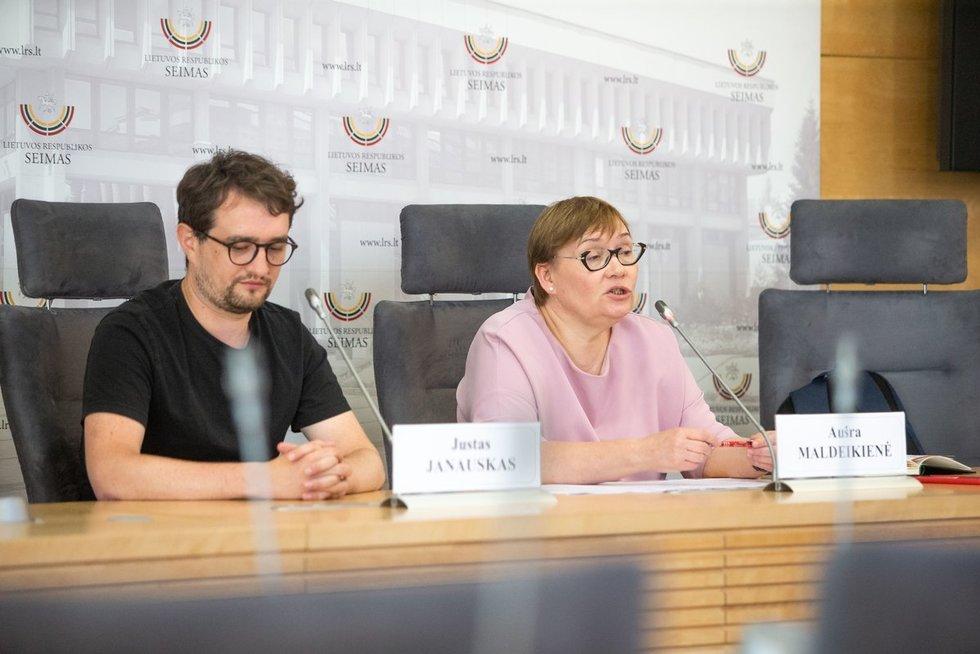 Aušra Maldeikienė (nuotr. Fotodiena/Justinas Auškelis)