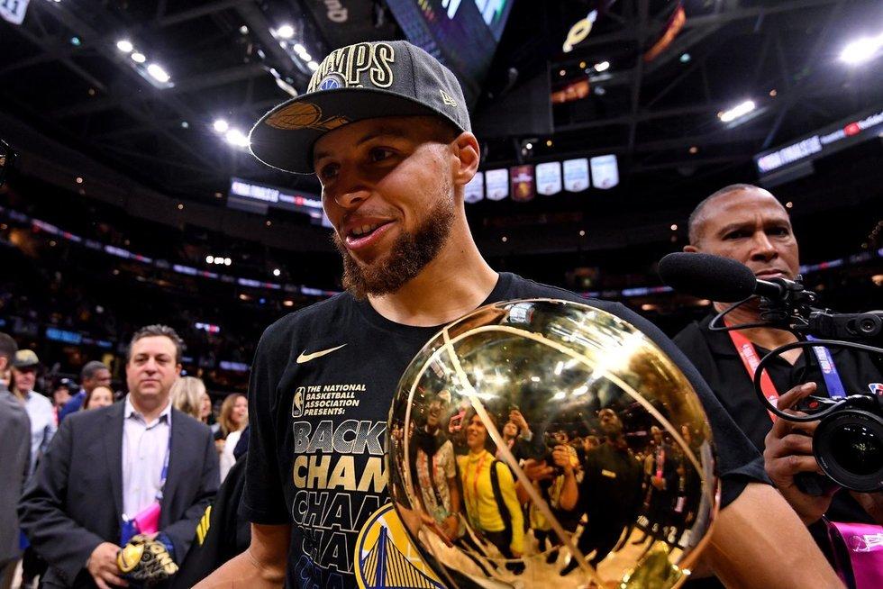 """Warriors"" – NBA čempionė (nuotr. SCANPIX)"