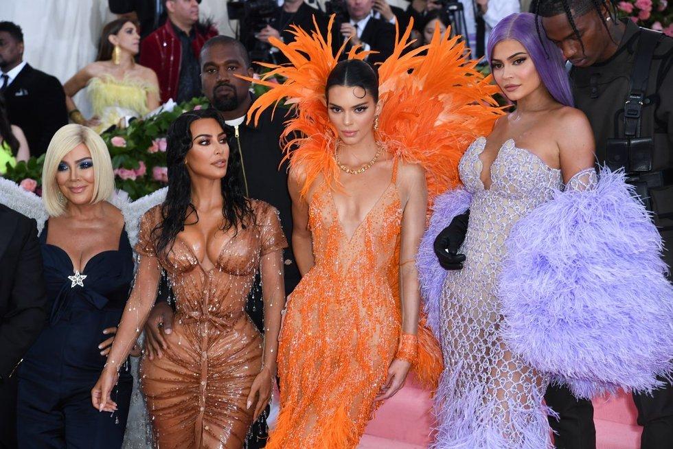 Kris Jenner, Kim Kardashian, Kendall Jenner, Kylie Jenner (nuotr. SCANPIX)