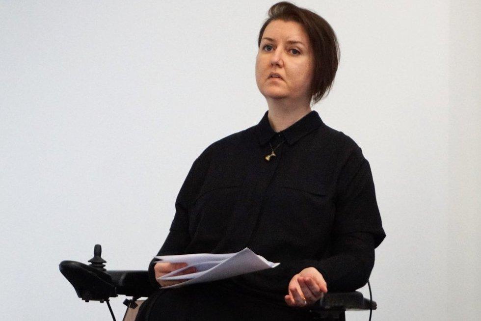 Monika Ošmianskienė įsitikinusi: nori, kad gyvenimas pasikeistų – pradėk nuo savęs. (Aldonos Milieškienės nuotr.)
