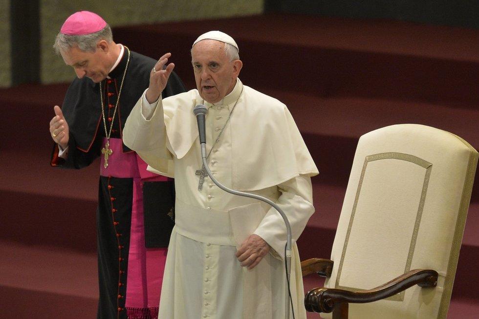 Popiežius Pranciškus (nuotr. SCANPIX)