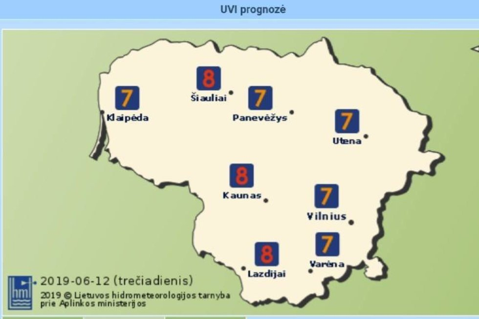 Perspėja šių Lietuvos miestų gyventojus (meteo.lt nuotr.)