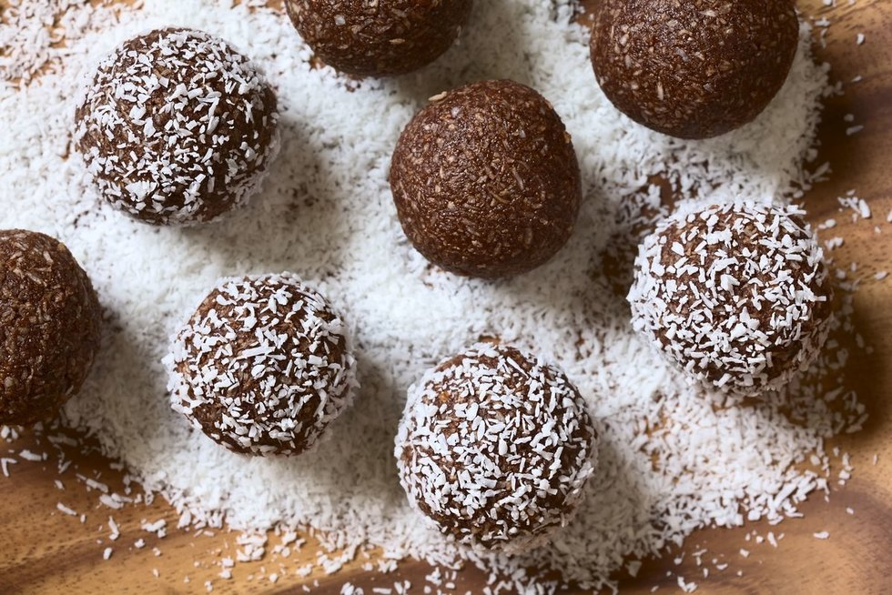 Šokoladiniai saldainiai (nuotr. 123rf.com)