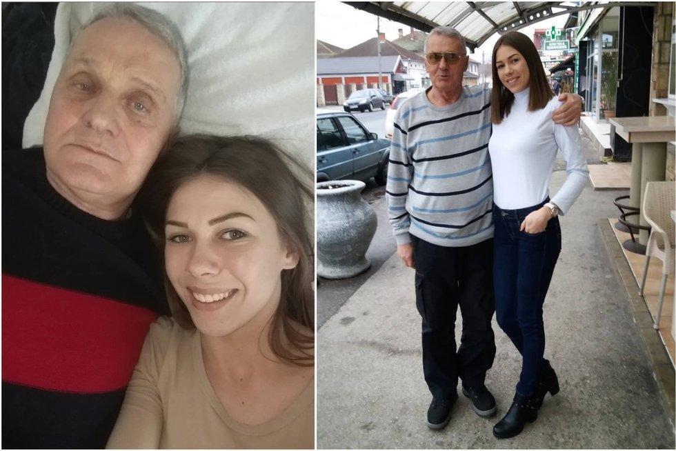 Milojko Bozic ir Milijana Bogdanovic (nuotr. Instagram)