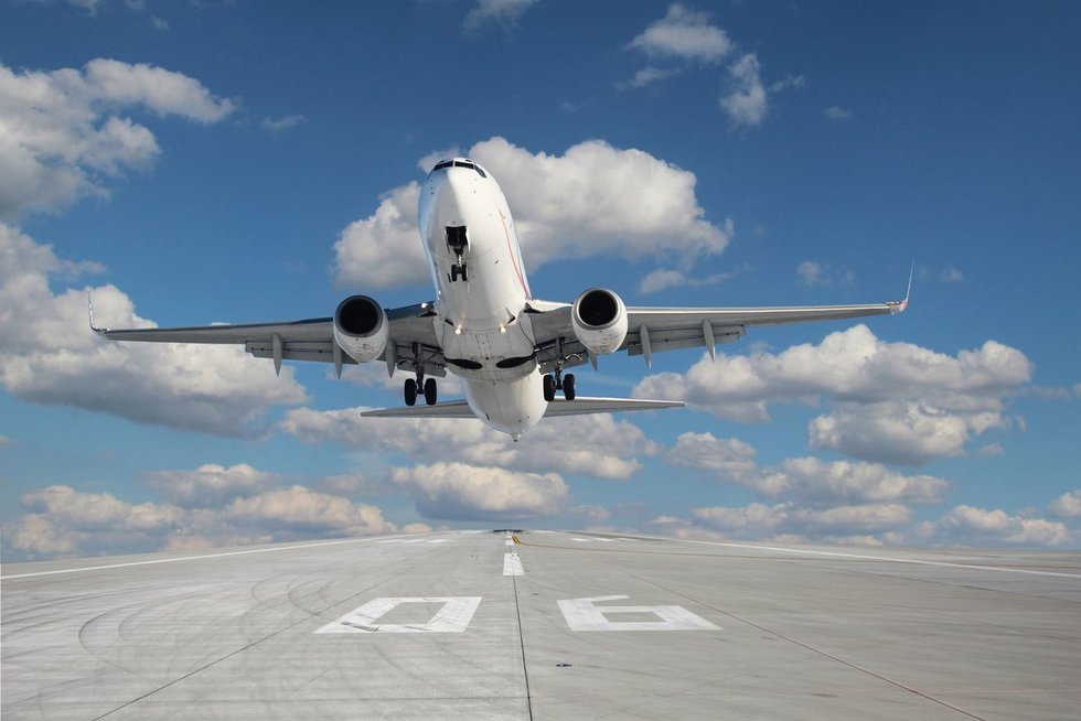 Lėktuvas (asociatyvi nuotr. 123rf.com)