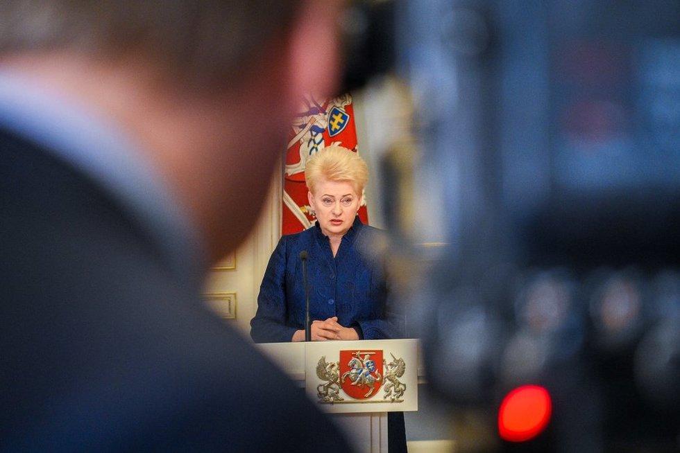 Lietuvos Respublikos Prezidentė (nuotr. Fotodiena.lt)