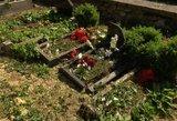 Varėnos rajone išdaužytos kapinės – paaiškėjo, kad taip tvarkyta aplinka