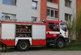 Vilniuje, dėl cigaretės nuorūkos kilus gaisrui, žuvo vyras