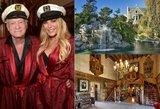 """Parduodama legendinė """"Playboy"""" rezidencija: kaip atrodo siautulingiausių vakarėlių vila iš arti"""