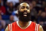 NBA siaučiantis Hardenas vos nepagerino karjeros taškų rekordo