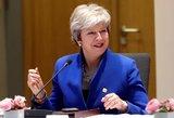 """Britanija išgelbėta šešiems mėnesiams – ES sutiko atidėti """"Brexit"""""""