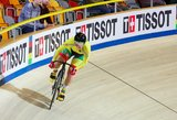 Dviratininkė Krupeckaitė pasaulio čempionato sprinte nesusitvarkė su psichologija