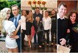 Gražiausios pramogų pasaulio šeimos: jų santykiais žavisi visa Lietuva