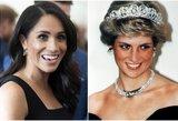Karalienė nebenusileis: M. Markle turi laikytis taisyklės, kurią princesė Diana ignoravo