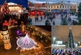 Kova už gražiausios Lietuvos Kalėdų eglės titulą: kurios vaizdas Jus paperka?