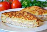 Turbo greiti sumuštinukai – sūrio ir kumpio tobulybė