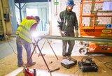 Iš Lietuvos vejami statybininkai nepasiduoda: teigia, kad jų planus sujaukė žiema