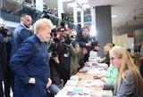 Dalia Grybauskaitė atsisakė dalyvauti viename iš dviejų referendumų