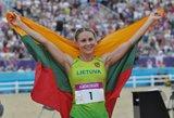 Olimpinė čempionė Laura Asadauskaitė: Rio bus sunkiau nei Londone