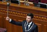 Politologai: parlamentą paleidžiantis Zelenskis elgiasi logiškai