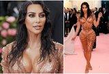 Kardashian korsetas atima žadą: kaip ji sugebėjo kvėpuoti?