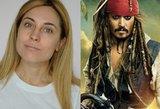Lietuvė it du vandens lašai panaši į Jack Sparrow: sunku atskirti