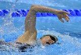 Pasaulio penkiakovės čempionate po plaukimo rungties L. Asadauskaitė savo grupėje šešta
