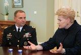 Tarptautiniai iššūkiai naujajam Lietuvos prezidentui: trys JAV generolo patarimai