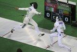 Titulą olimpiadoje ginanti penkiakovininkė Laura Asadauskaitė po pirmos rungties – vienuolikta